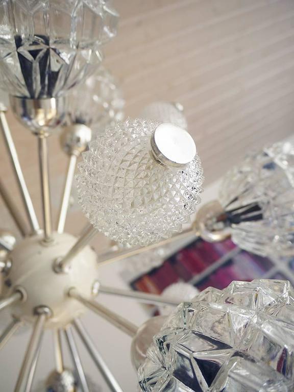 Richard Essig Bubble Glass Sputnik Chandelier For Sale 2