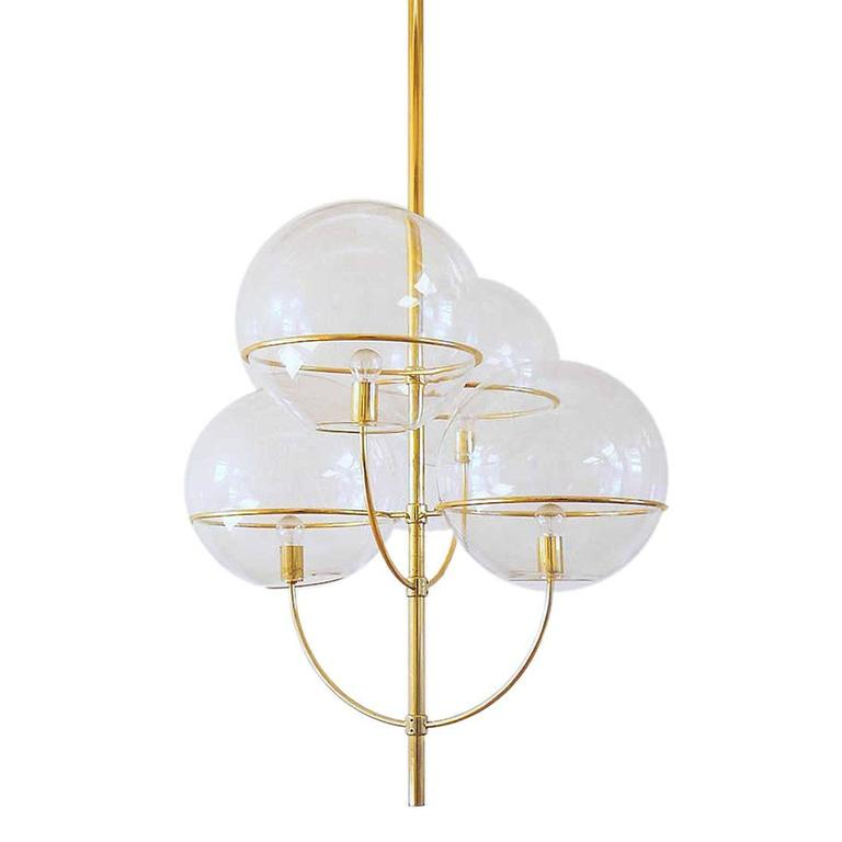 Huge Lyndon Ceiling Light by Vico Magistretti for O-Luce, 1977