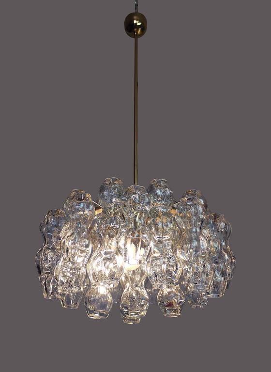 Murano Glass Chandelier by Doria, 1960s 2