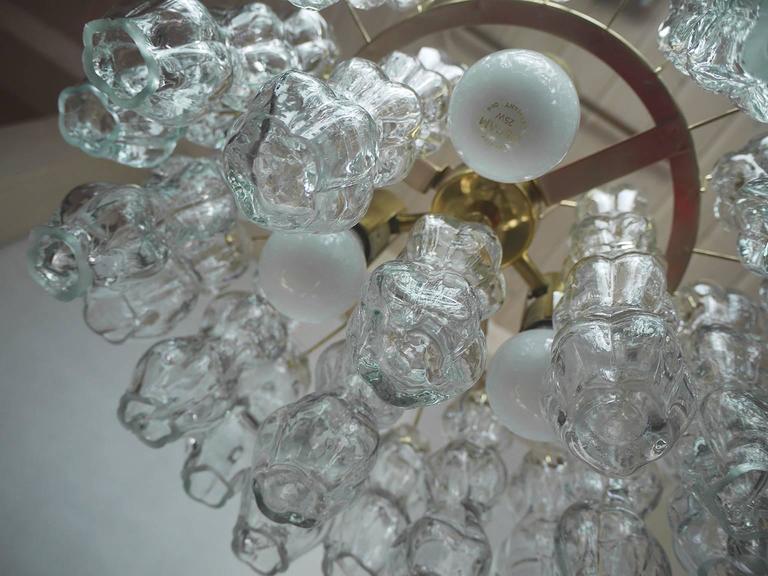Mid-Century Modern Murano Glass Chandelier by Doria, 1960s