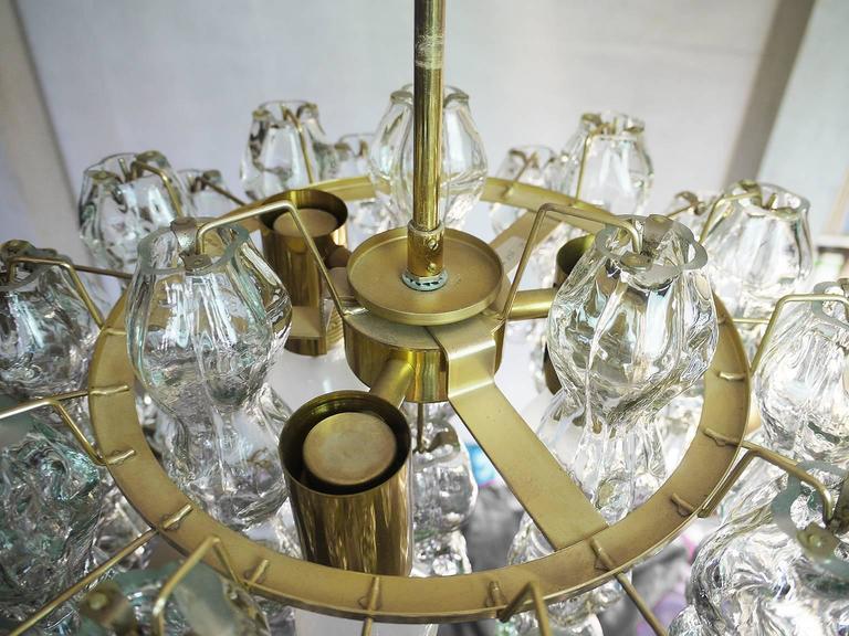 Murano Glass Chandelier by Doria, 1960s In Excellent Condition In Niederdorfelden, Hessen