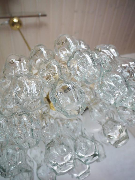 German Murano Glass Chandelier by Doria, 1960s