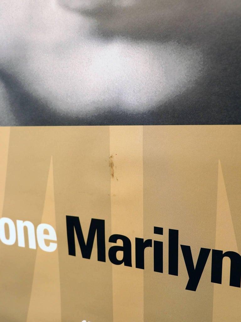 Marilyn Monroe, German Exhibition Poster, 2010-2011 In Good Condition For Sale In Niederdorfelden, Hessen
