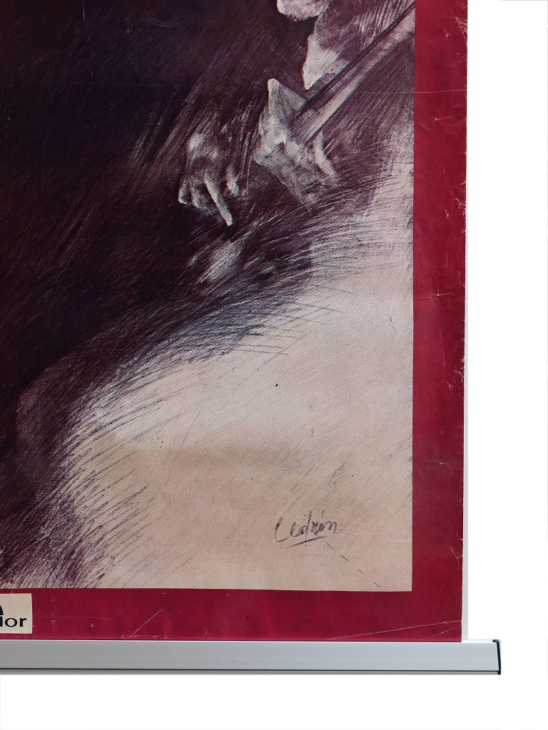 French Cuarteto Cedron, Chances Poster 1977 Polydor, Argentina For Sale