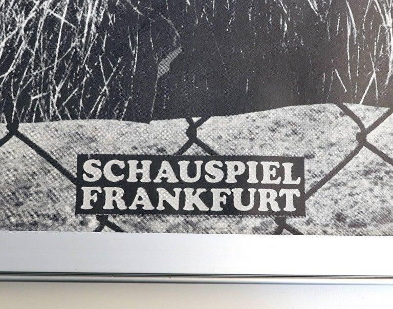 Original First Printing Poster by German Designer Gunter Rambow, 1978 In Good Condition For Sale In Niederdorfelden, Hessen