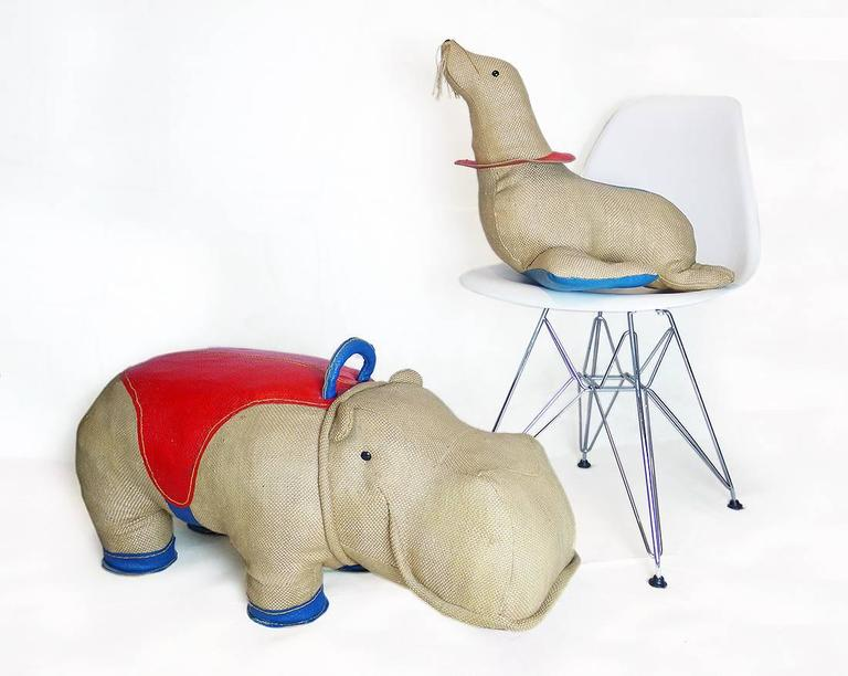 Renate Müller Therapeutic Toy Seal Oversized Stuffed Animal, 1971 5