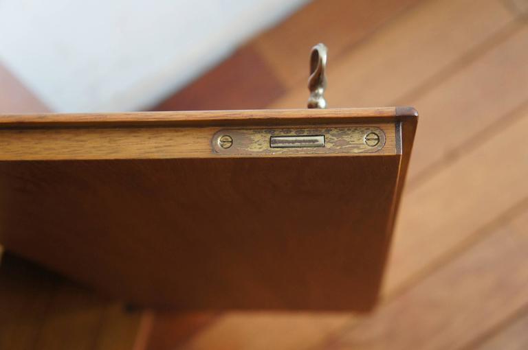 20th Century Mid-Century Modern Scandinavian Design Corner Cabinet Bookcase or Stereo Cabinet For Sale