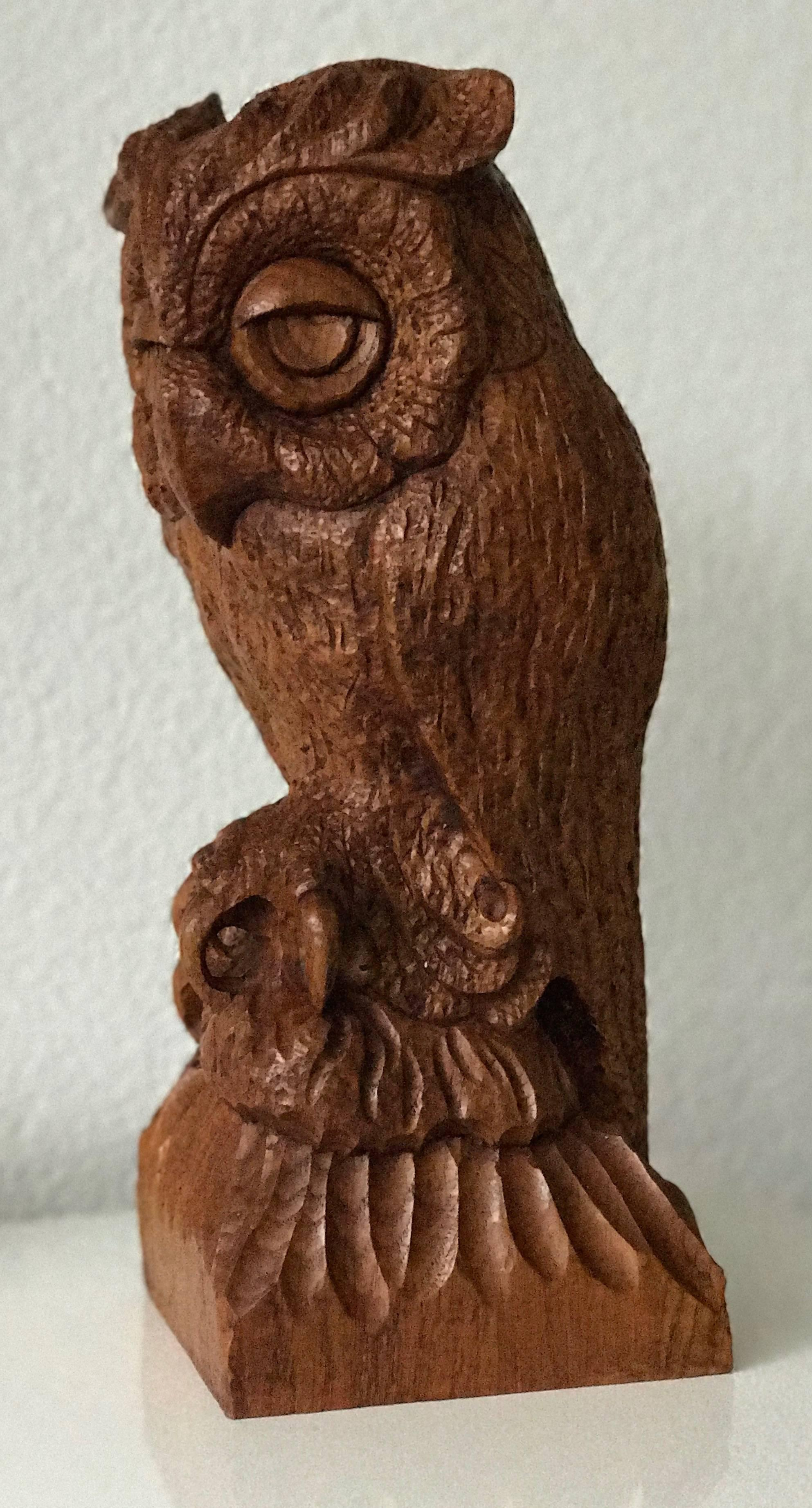 Owl chainsaw carving rob beckinsale flickr