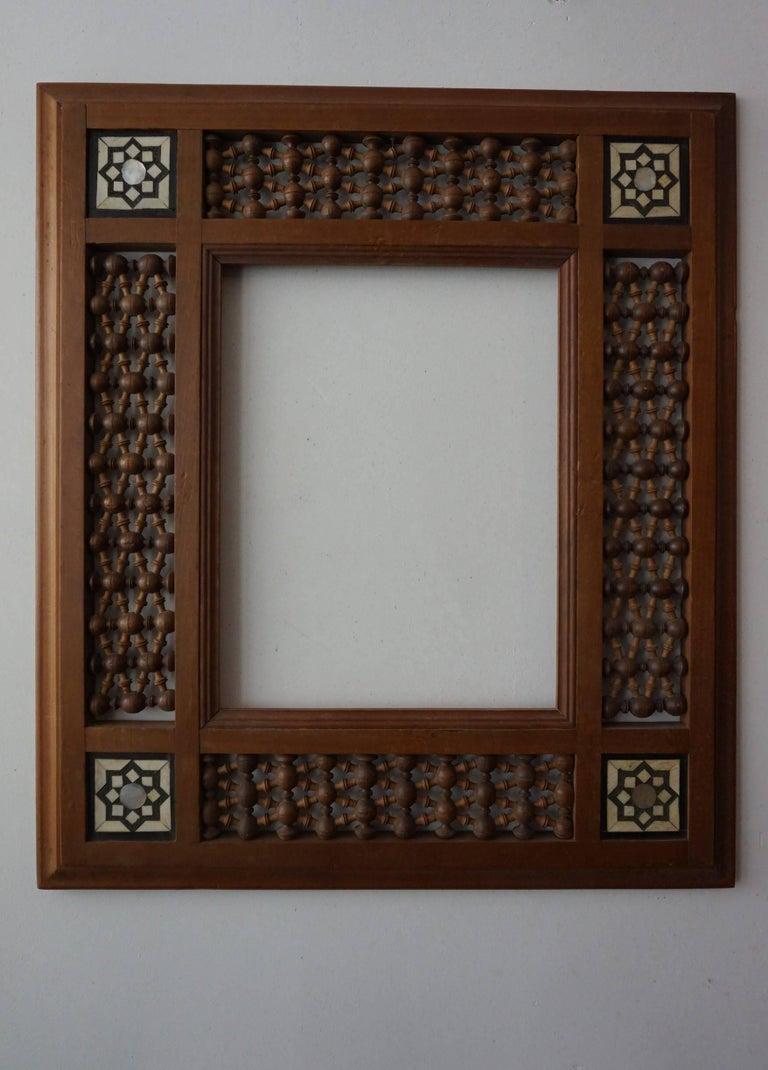 Rare Early 20th Century Handcrafted Set of Moorish Arabic Inlaid ...