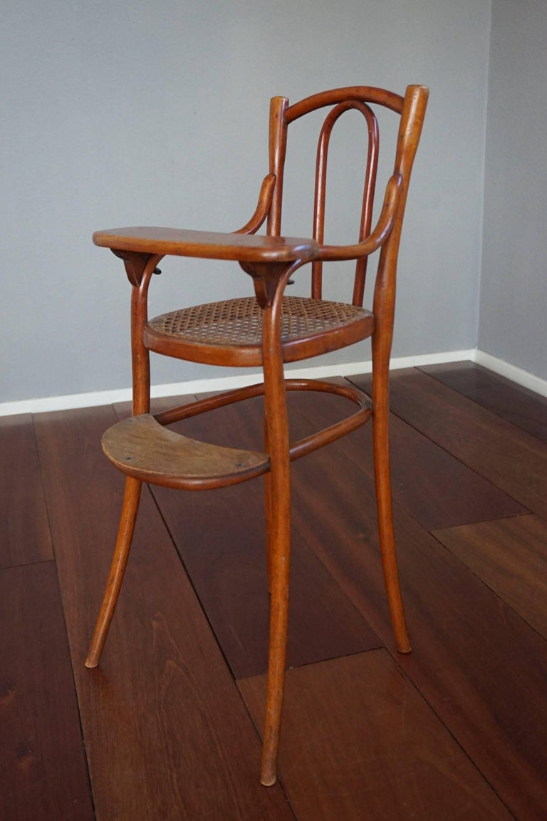 Austrian Antique Thonet Bentwood Puppenmobel Doll Chairs / Doll Furniture For Sale