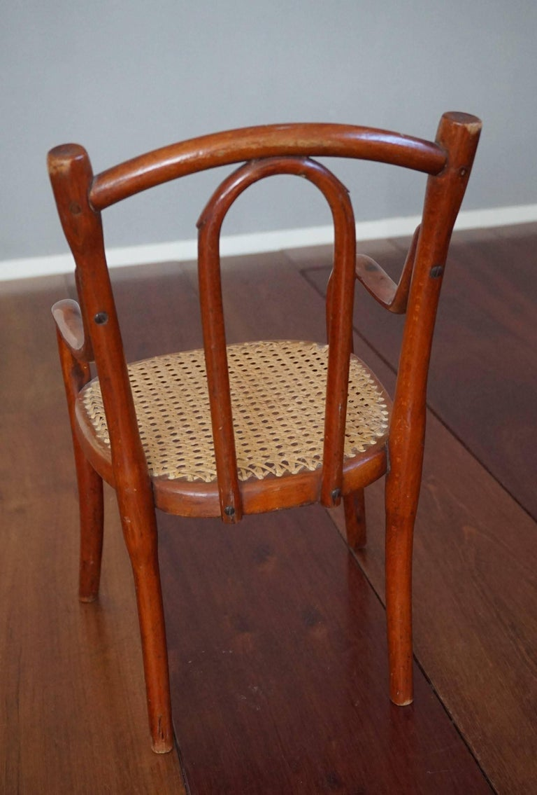 Antique Thonet Bentwood Puppenmobel Doll Chairs / Doll Furniture For Sale 1