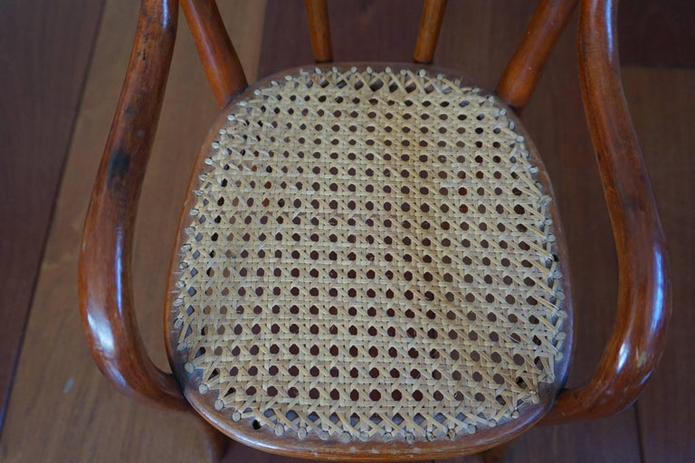 Antique Thonet Bentwood Puppenmobel Doll Chairs / Doll Furniture For Sale 2