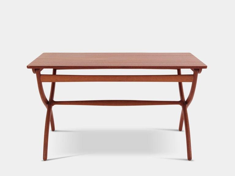 Scandinavian Modern Coffee Table by Ole Wanscher For Sale