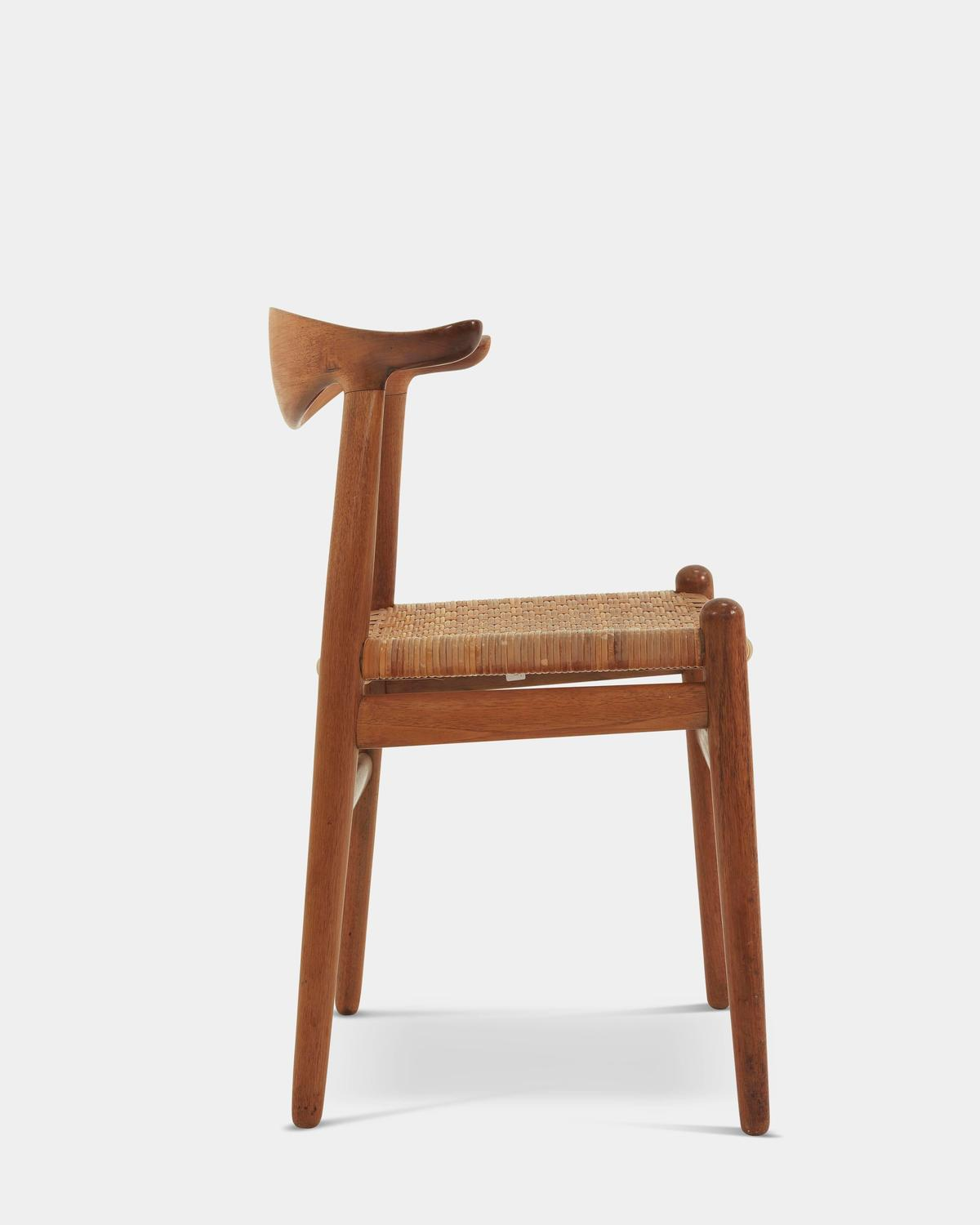 Cow Horn Chair By Hans J Wegner For Sale At 1stdibs