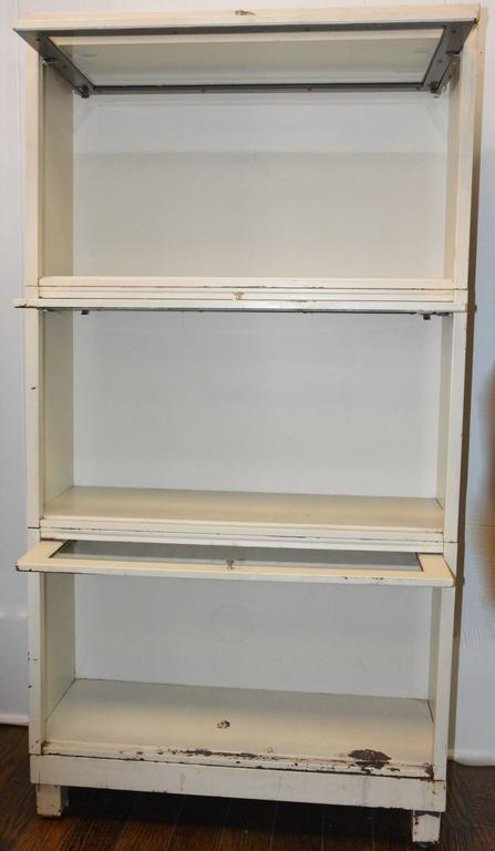 We Are Offering A Mid Century Modern Barristeru0027s Bookcase For Your  Collection! Three Shelves
