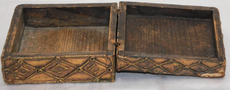 Gilt Florentine Box with Madonna and Child For Sale