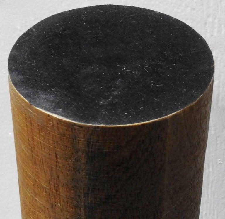 Metal Pedestal Cachepot Mid-Century Modern For Sale