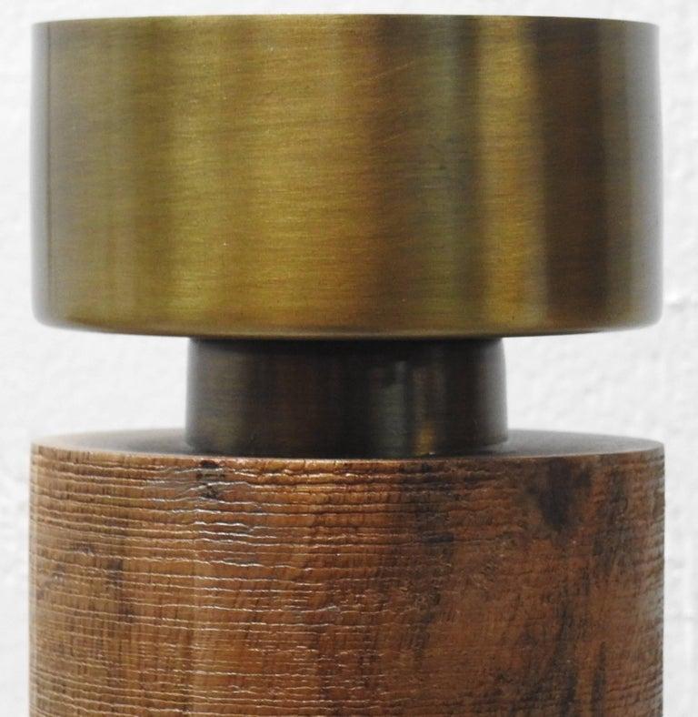 Cast Pedestal Cachepot Mid-Century Modern For Sale