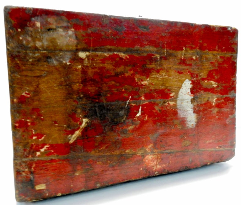 Chinese Storage Chest Hand Painted, Late 19th Century For Sale 4
