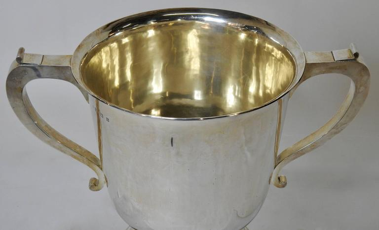 Sterling Silver 1925 Kentucky Latonia Horse Race Cup For Sale 1