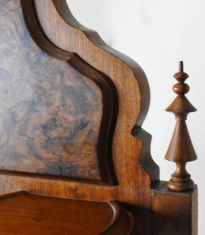 American Victorian Gentleman's Dresser with Marble Tops For Sale