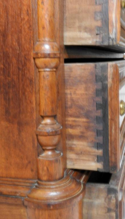 Polished Victorian Gentleman's Dresser with Marble Tops For Sale