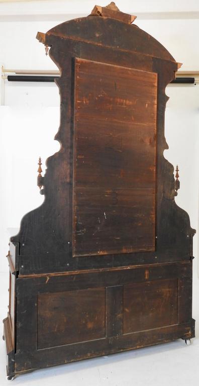 Victorian Gentleman's Dresser with Marble Tops For Sale 1