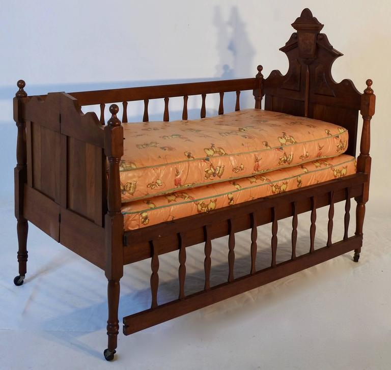 American Victorian Childs Bed For Sale