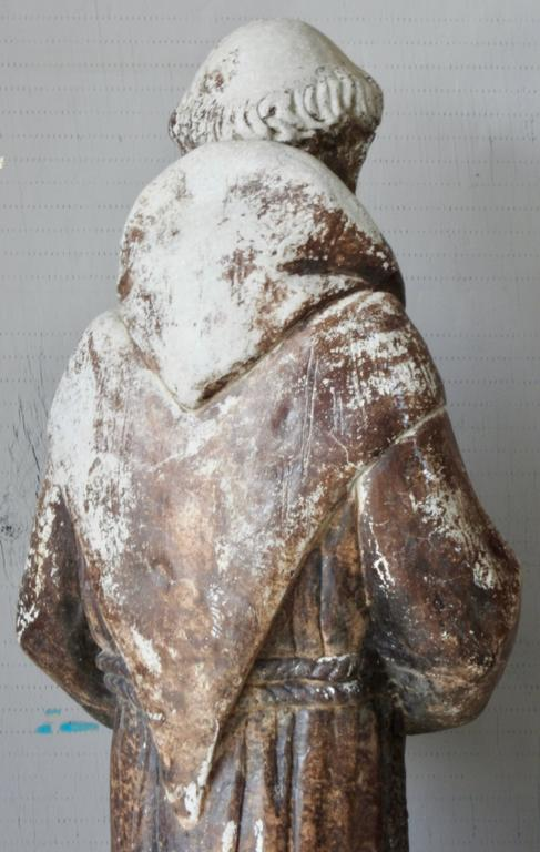 American St Francis of Assisi Garden Statue For Sale