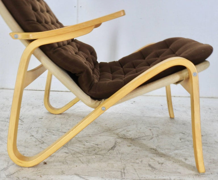 Hand-Crafted Danish Modern Lounge Chair by DUX For Sale