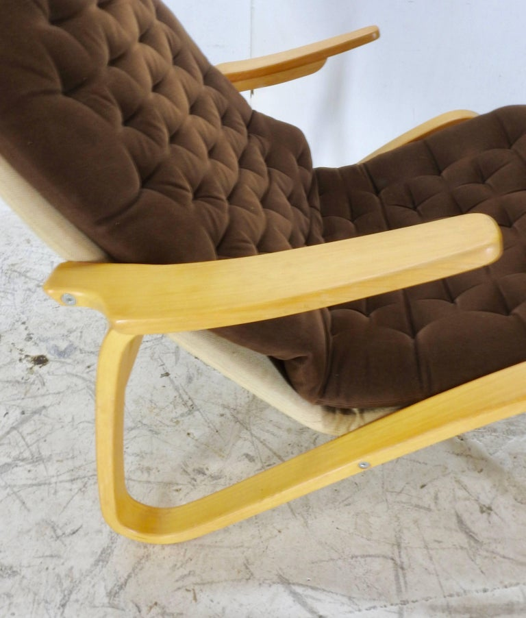Danish Modern Lounge Chair by DUX For Sale 1