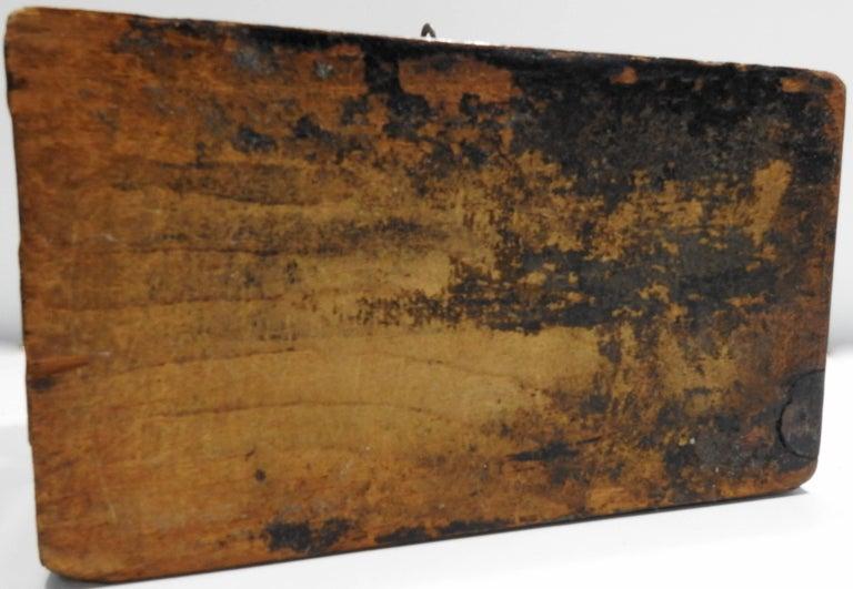 19th Century English Tunbridge Walnut Tea Caddy For Sale 2