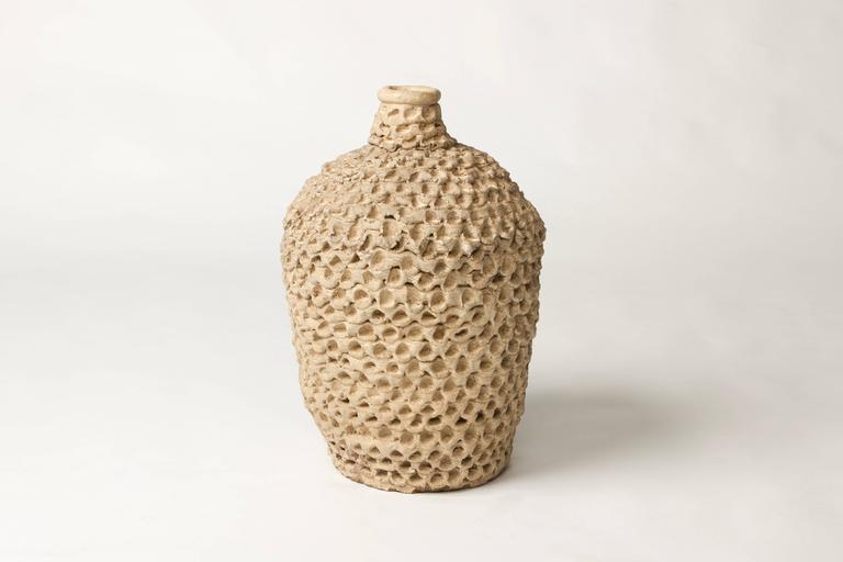 Mid-Century Modern Mid-Century or Brutalist Ceramic Handmade Thumb Pots by Douglas Walla, 1971 For Sale