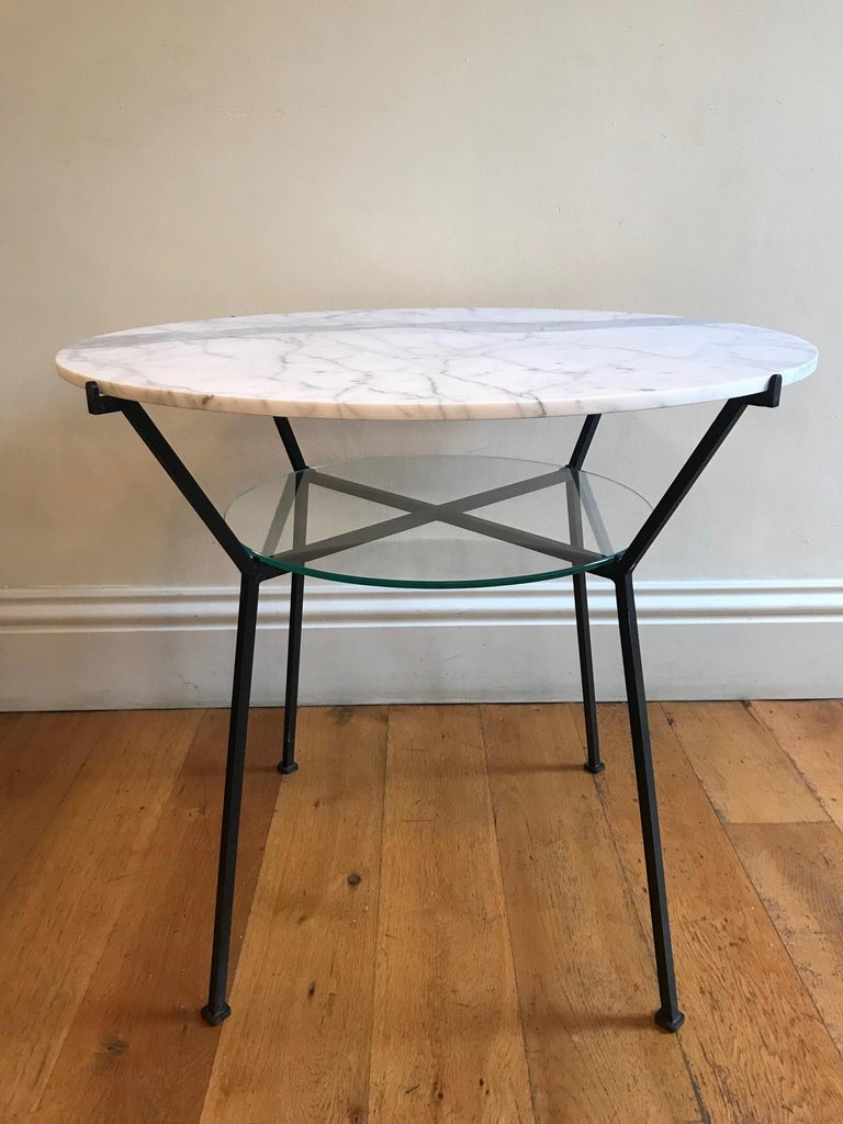Mid-Century Modern French 1950s Charles Ramos Table For Sale