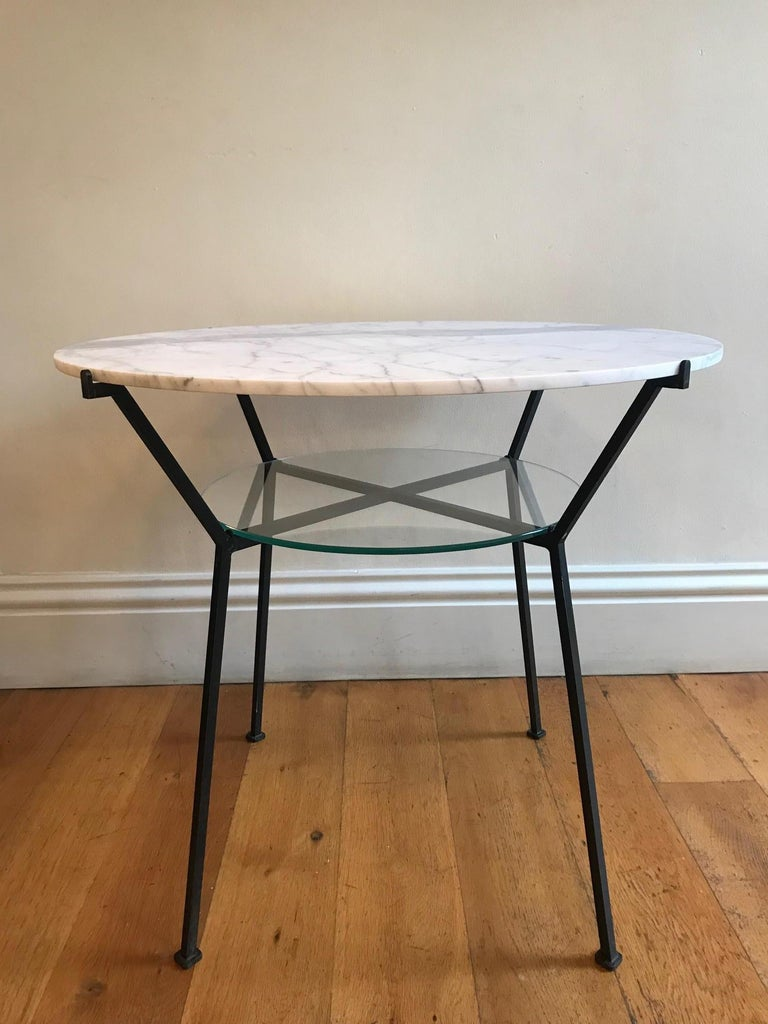 French 1950s Charles Ramos Table In Good Condition For Sale In London, GB