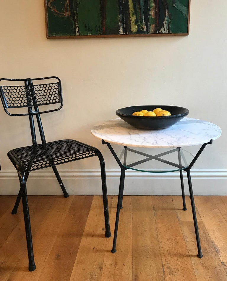 Iron French 1950s Charles Ramos Table For Sale