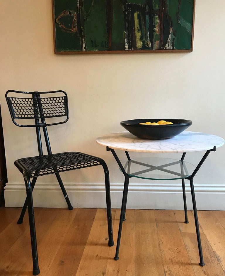 French 1950s Charles Ramos Table For Sale 1