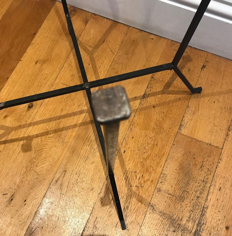 French 1950s Charles Ramos Table For Sale 3