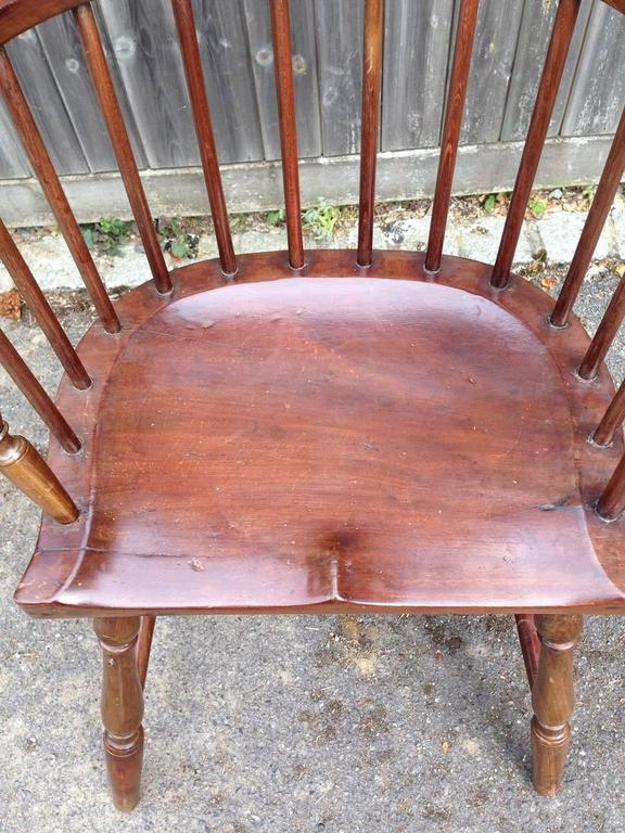 Pair of Rare Windsor Jamaican Comb Back Mahogany Chairs, circa 1820s For Sale 2