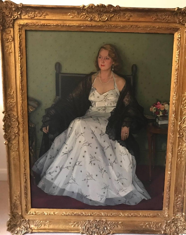 Edwin Greenman, Royal Society of Portrait artists, Oil on Canvas