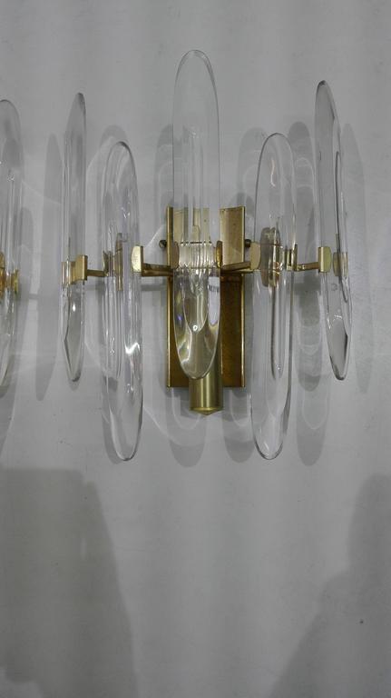 20 secolo gaetano sciolari applique at 1stdibs. Black Bedroom Furniture Sets. Home Design Ideas