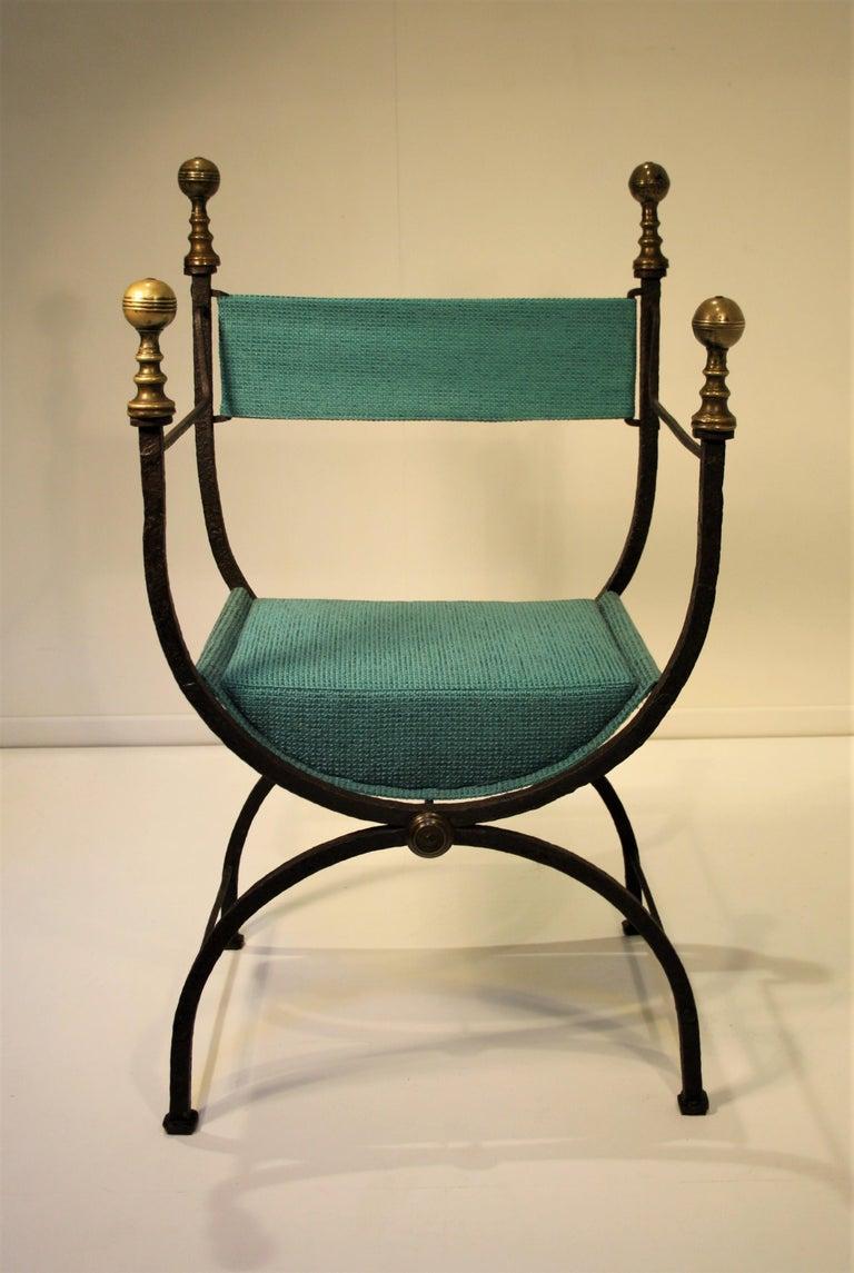Renaissance 17th Century Curule Chair For Sale