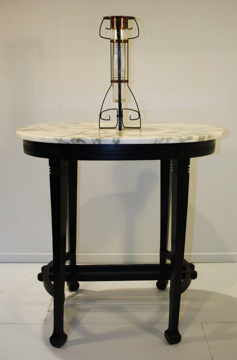art nouveau console table from leon sneyers 1902 for sale at 1stdibs. Black Bedroom Furniture Sets. Home Design Ideas