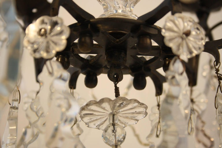 18th Century, Louis XV Period Crystal Chandelier For Sale 1