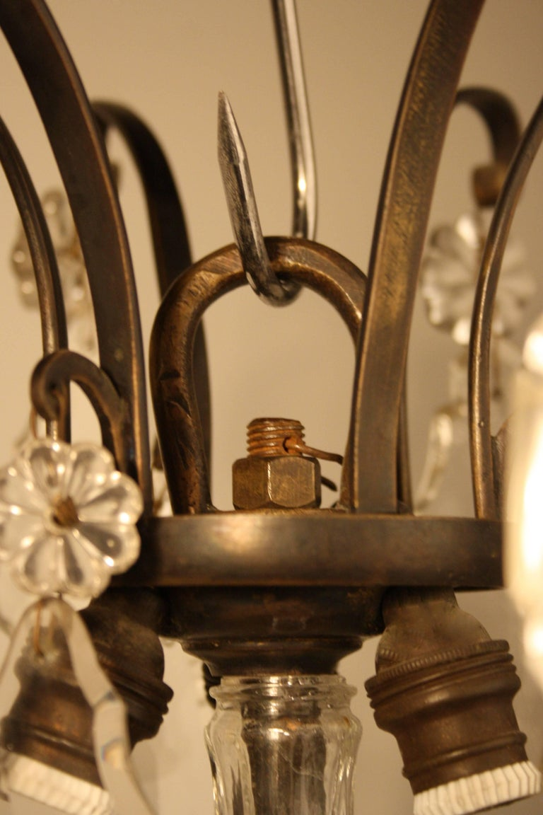18th Century, Louis XV Period Crystal Chandelier For Sale 3