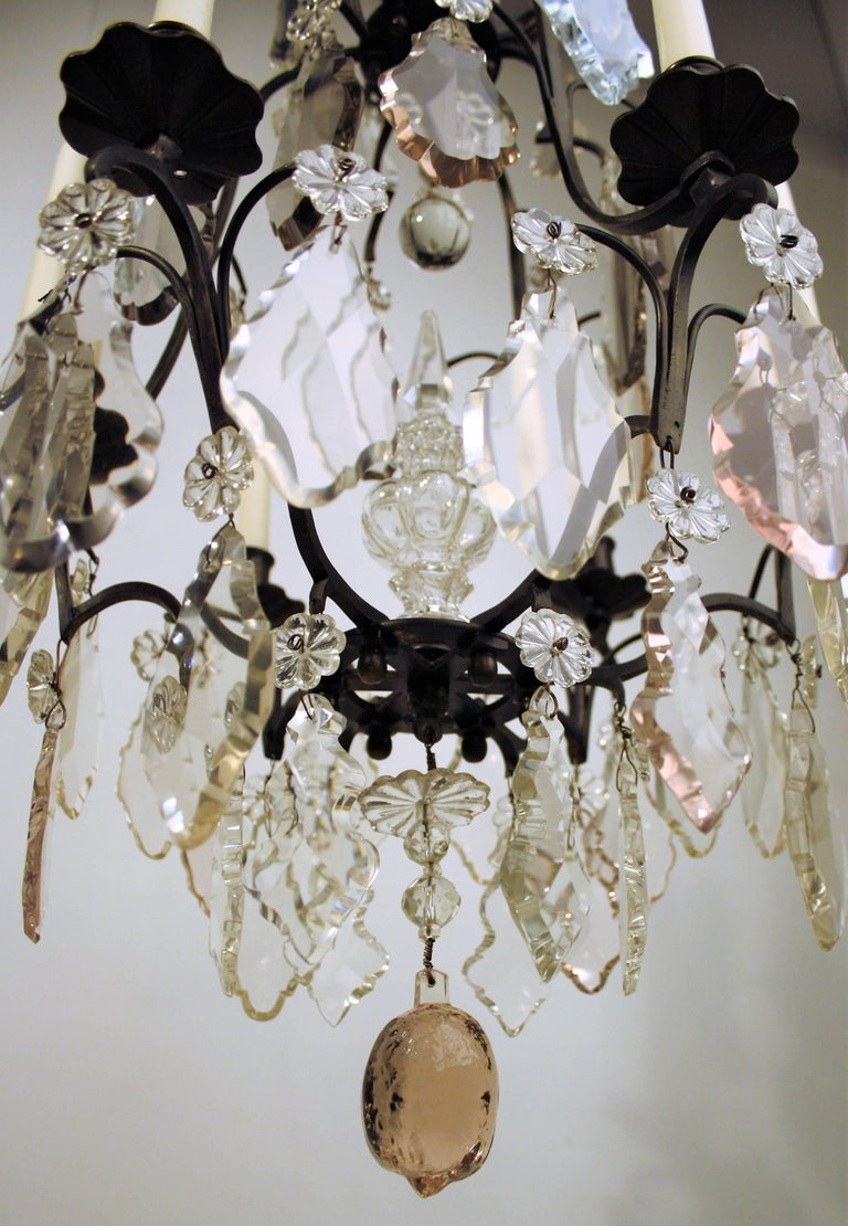 18th Century, Louis XV Period Crystal Chandelier In Good Condition For Sale In Belgium, BE