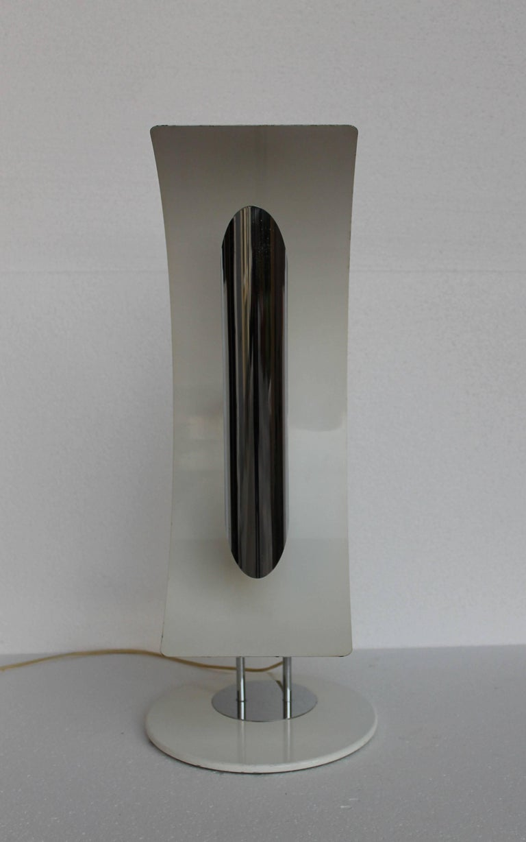 Enameled Martinelli Luce Table Lamp For Sale