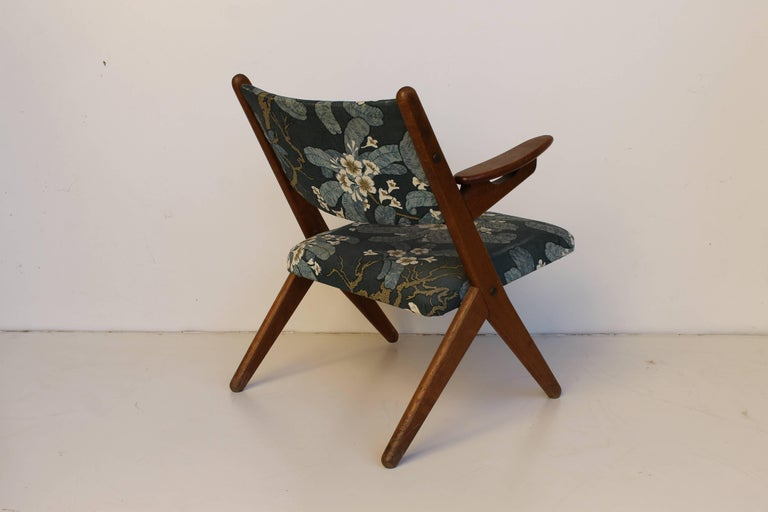 Lounge Chair 1950s in swedish style.
