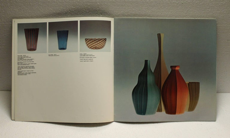 Italian Venini Book, Limited Edition, 1978 For Sale