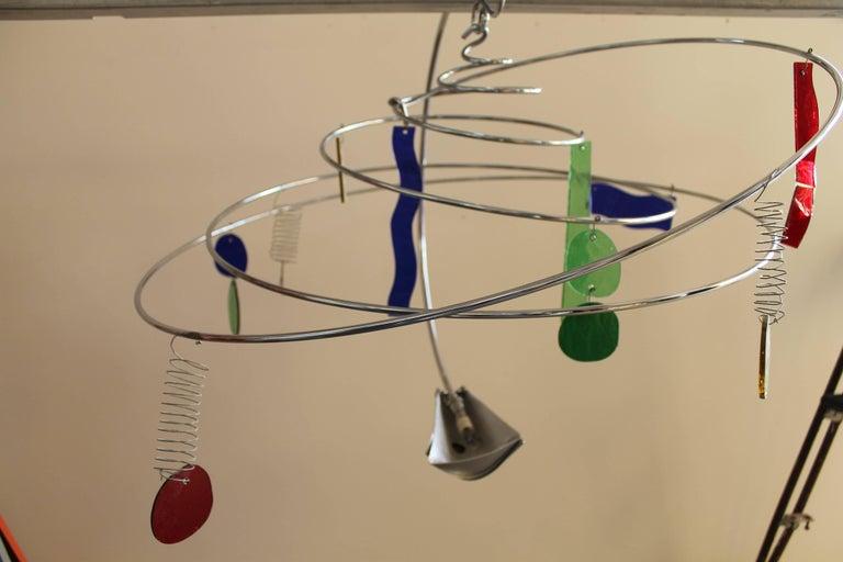 Italian Ilione Spiral Chandelier by Artemide For Sale